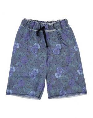 Бермуды ALLIGALLI. Цвет: фиолетовый