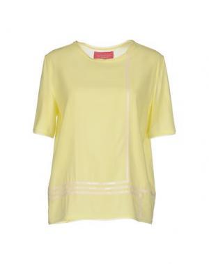 Блузка CARLO CONTRADA. Цвет: желтый
