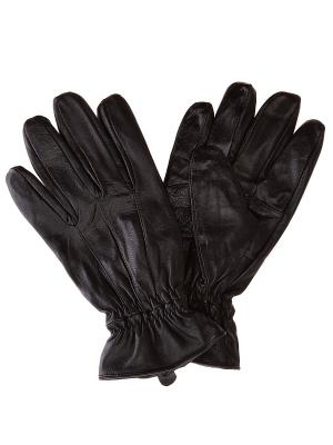 Перчатки Oodji. Цвет: черный