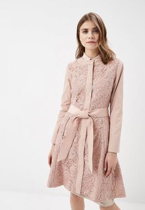 Плащ Odri Mio. Цвет: розовый