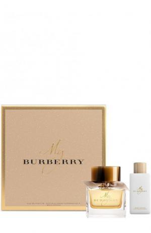 Набор: Парфюмерная вода my  + Лосьон для тела Burberry. Цвет: бесцветный