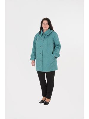 Куртка БаяНа. Цвет: зеленый