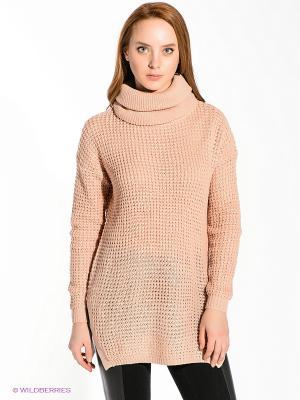 Туника Vero moda. Цвет: персиковый