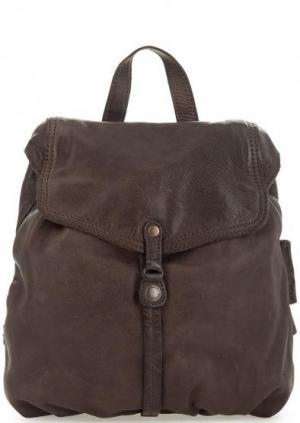 Рюкзак из натуральной кожи коричневого цвета aunts & uncles. Цвет: коричневый