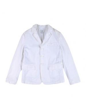 Пиджак MAURO GRIFONI KIDS. Цвет: белый