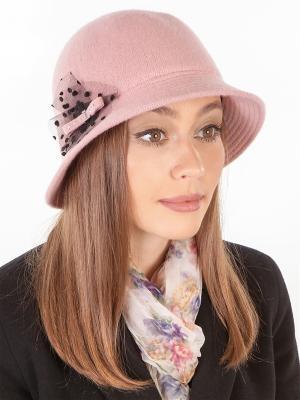 Шляпа LORICCI. Цвет: бежевый, розовый
