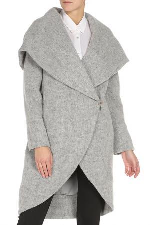 Пальто ZAC POSEN. Цвет: grey melange