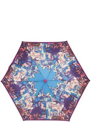 Зонт Labbra. Цвет: синий, бежевый, коричневый