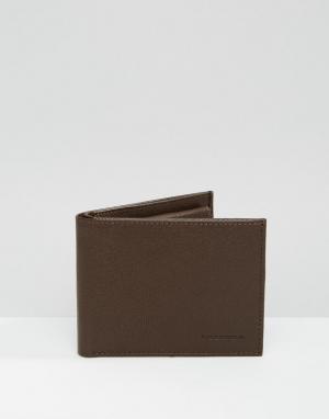 Royal RepubliQ Кожаный бумажник. Цвет: коричневый