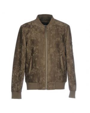 Куртка URBAN CLASSICS. Цвет: зеленый-милитари