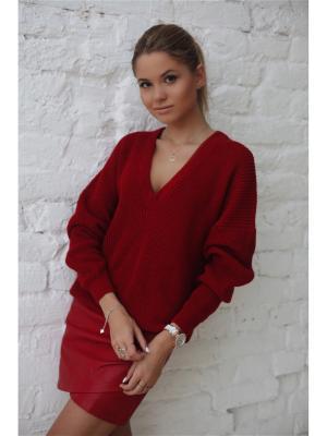 Пуловер Wooly's. Цвет: красный