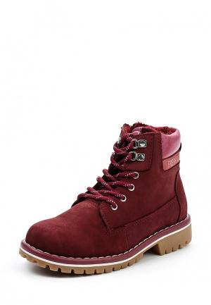 Ботинки Shuzzi. Цвет: бордовый