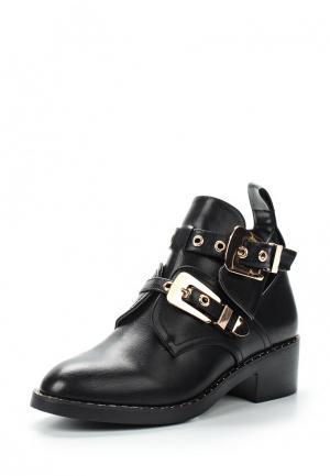 Ботинки Style Shoes. Цвет: черный