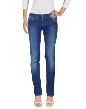 Джинсовые брюки EAN 13. Цвет: синий