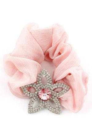 Резинка Shining Curl. Цвет: розовый, белый