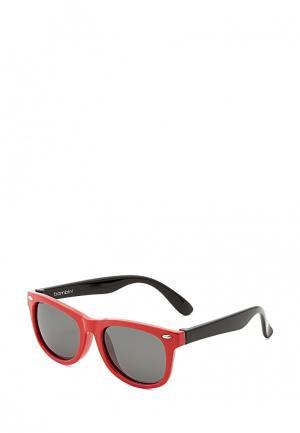 Очки солнцезащитные Mario Rossi. Цвет: красный