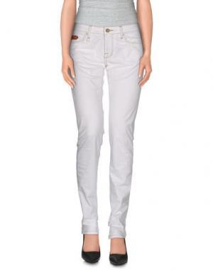 Повседневные брюки UNLIMITED. Цвет: белый