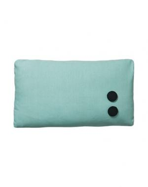Подушка DESIGN LETTERS. Цвет: светло-зеленый