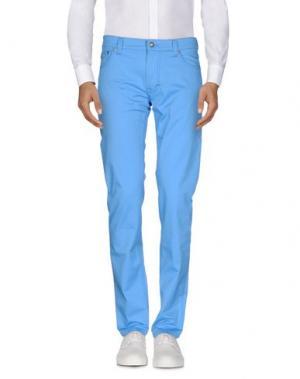 Повседневные брюки HARMONT&BLAINE. Цвет: лазурный