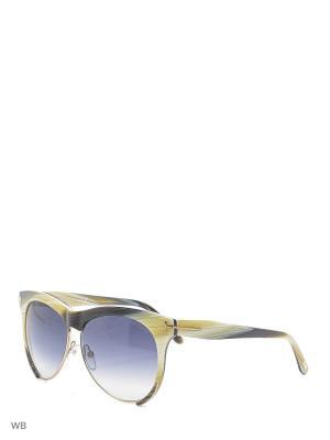 Солнцезащитные очки FT 0365 60B Tom Ford. Цвет: бежевый