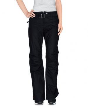 Лыжные брюки KRU. Цвет: черный
