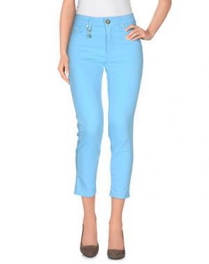 Повседневные брюки MARANI JEANS. Цвет: лазурный