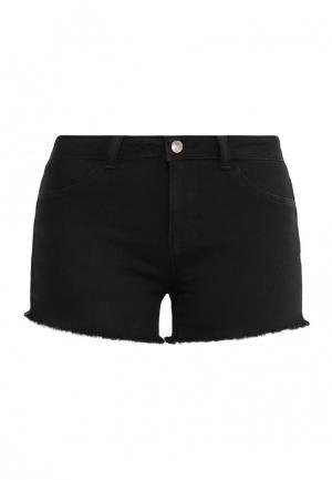 Шорты джинсовые Jacqueline de Yong. Цвет: черный
