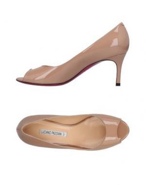 Туфли LUCIANO PADOVAN. Цвет: пастельно-розовый