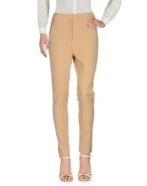 Повседневные брюки BY MALENE BIRGER. Цвет: бежевый