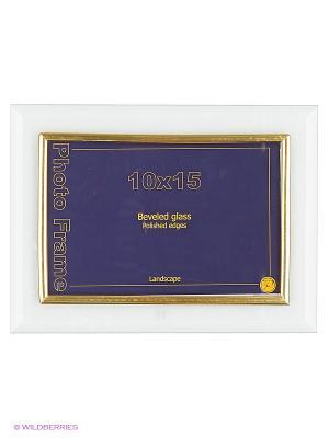 Фоторамка стеклянная 10Х15, flat hor VELD-CO. Цвет: желтый