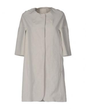 Легкое пальто TROU AUX BICHES. Цвет: серый