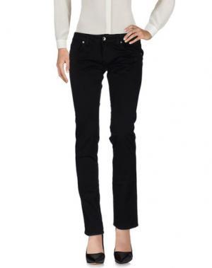 Повседневные брюки NICHOL JUDD. Цвет: черный