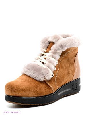 Ботинки DAKKEM. Цвет: коричневый
