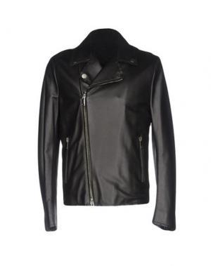 Куртка COSTUME NATIONAL HOMME. Цвет: черный