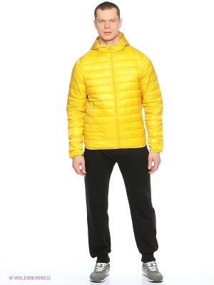 Пуховик ANTA. Цвет: желтый