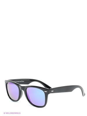 Солнцезащитные очки Franco Sordelli. Цвет: черный, бирюзовый, фиолетовый