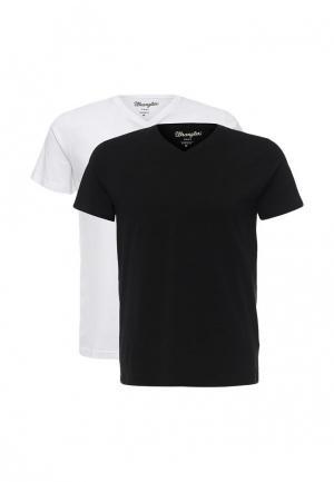 Комплект футболок 2 шт. Wrangler. Цвет: разноцветный