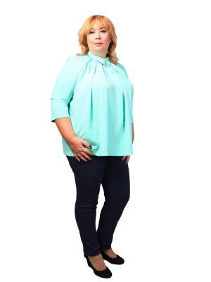 Блуза Glam Goddess. Цвет: бирюзовый