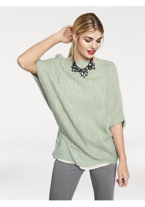 Пуловер Rick Cardona. Цвет: нежно-зеленый