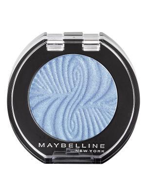 Моно тени для глаз, цвет: Сатин 16 Голубой, 3 мл Maybelline New York. Цвет: голубой