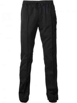 Спортивные брюки на завязках Ødd.. Цвет: чёрный