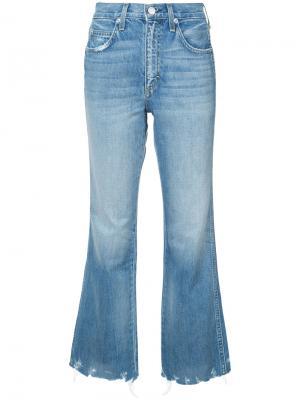 Широкие джинсы Bex Amo. Цвет: синий