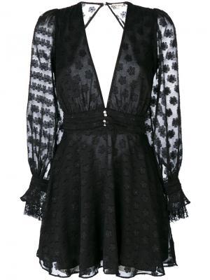 Modern Love dress For And Lemons. Цвет: чёрный