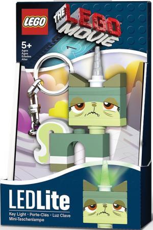 Брелоки-фонарик Lego. Цвет: зеленый