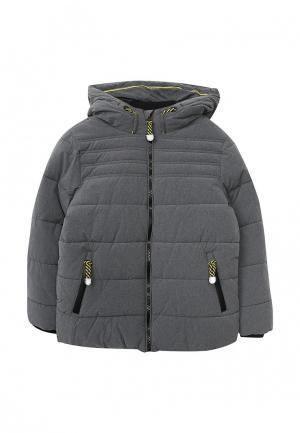 Куртка утепленная Tom Tailor. Цвет: серый