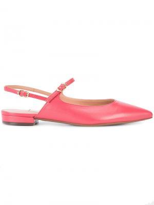 Балетки с заостренным носком LAutre Chose L'Autre. Цвет: розовый и фиолетовый