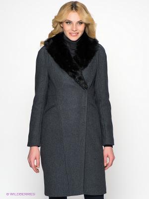 Пальто MEXX. Цвет: темно-серый