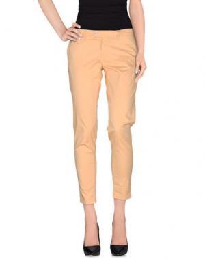 Повседневные брюки OAKS. Цвет: абрикосовый