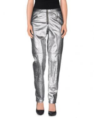 Повседневные брюки BRIGITTE BARDOT. Цвет: серебристый