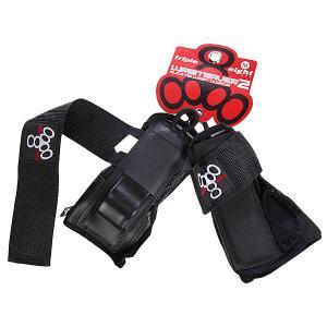 Защита на запястья  Wristsaver Ii Slide On Triple Eight. Цвет: черный